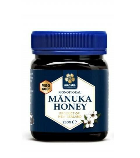 Manuka honing MGO 400+ (250 gram)