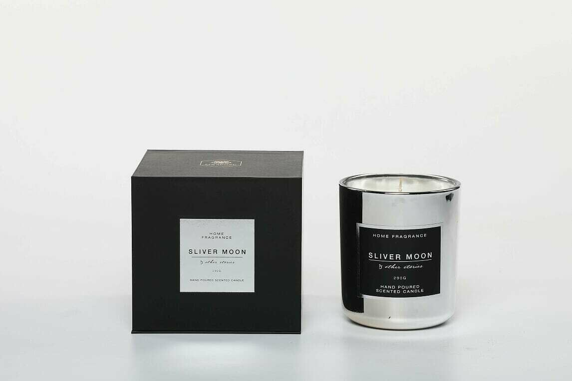 M&Sense Other Stories Silver Moon Luxurious Scented Large Candle
