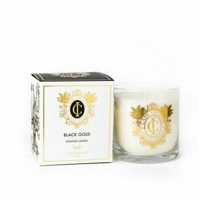 Black Gold Candle - large 500ml