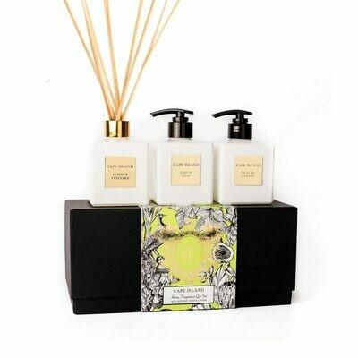 Summer Vineyard Soap, Lotion & Diffuser Boxed Set