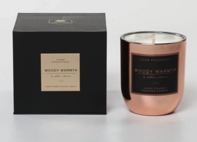 M&Sense Other Stories Woody Warmth Luxurious Scented Large Candle