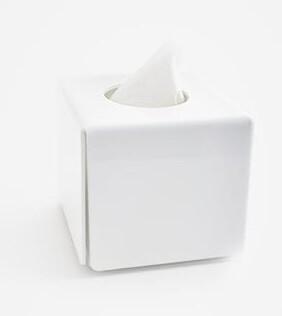 Tissue Box white square