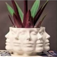 Apollo Planter - White (small, medium, large) (plant not included)