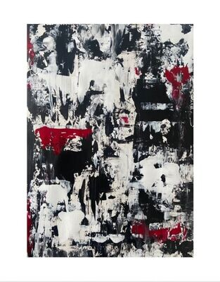 "Toni G Print ""Ambivalence 2"" size A0 (118cm x 84cm)"
