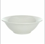 The Circle white Porcelain 22 cm Salad bowl