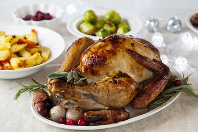 12-14lb Free range Bronze turkey