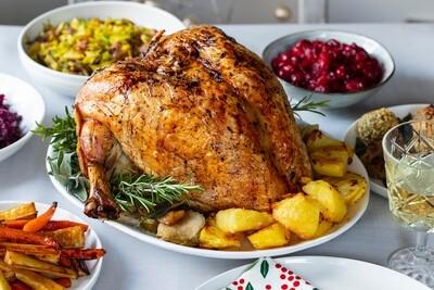 16-18lb Free range Bronze turkey
