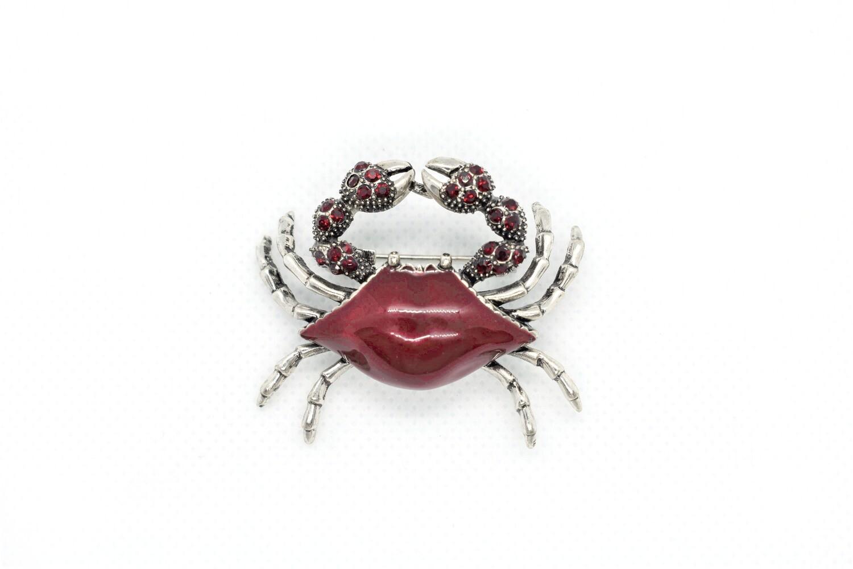 Broche Crabe