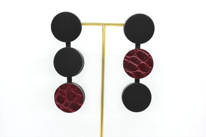Circle 03 - Croco rouge