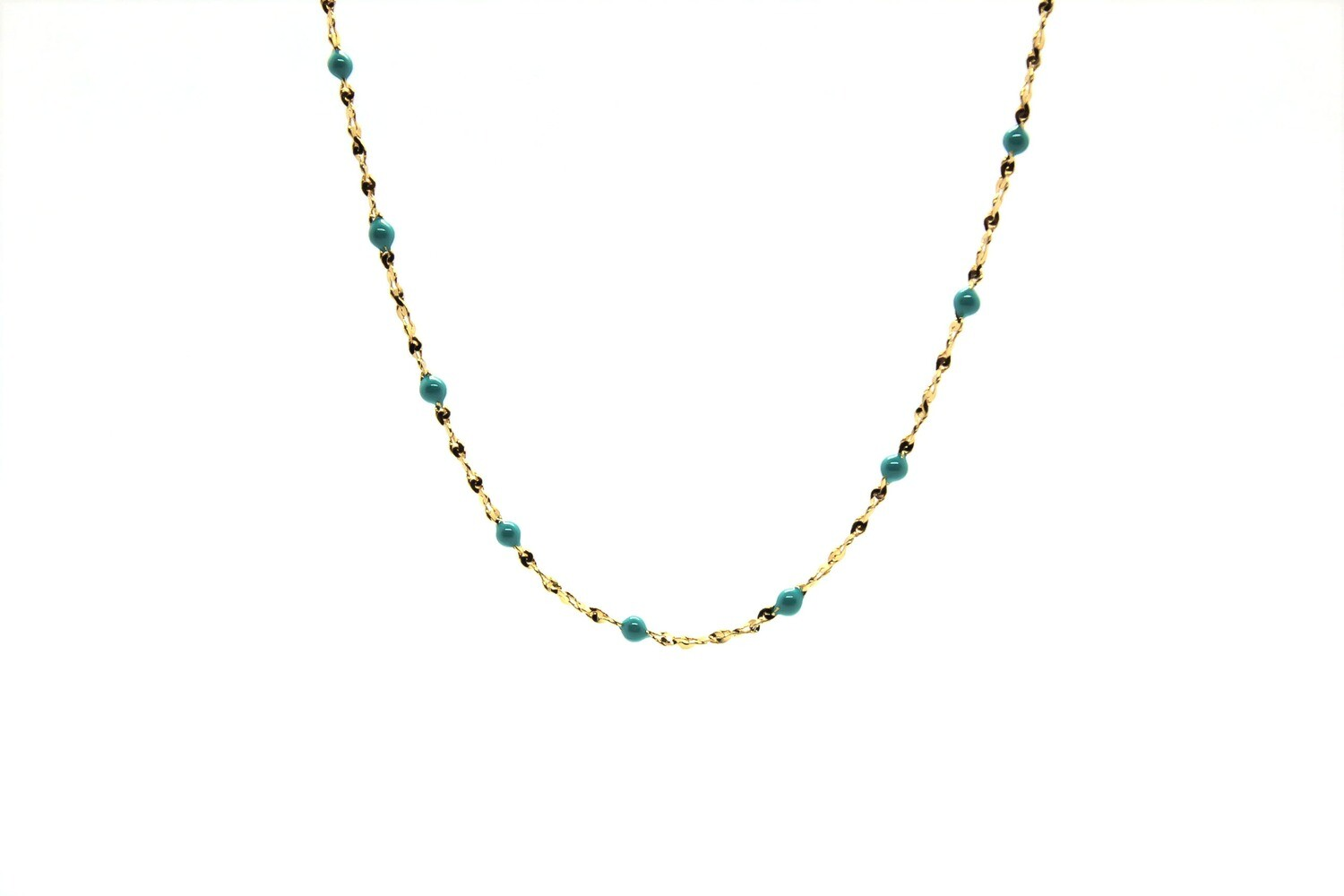 Collier Gigy - Perles Turquoise