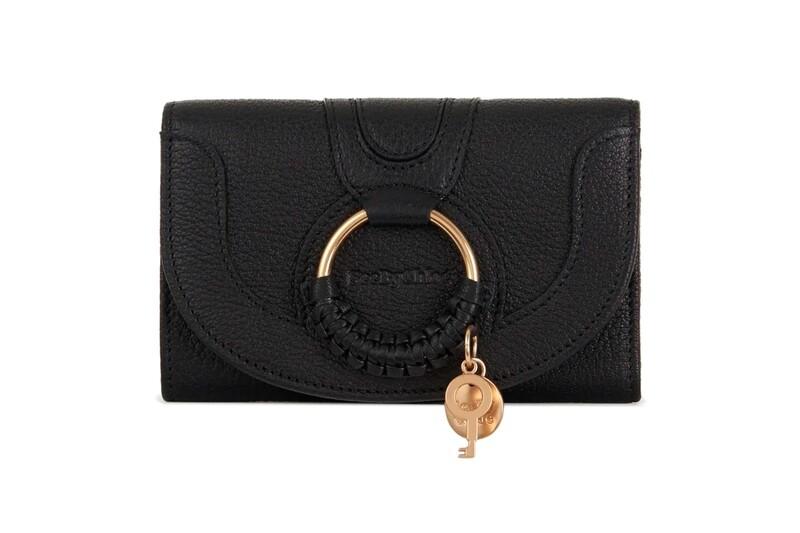 Portefeuille Compact Hana - Noir