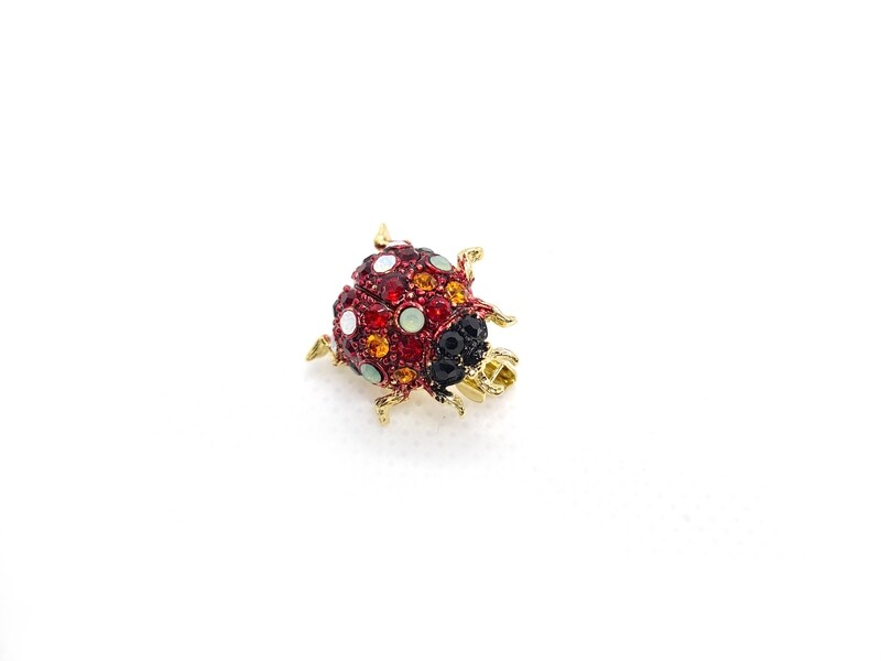Pins Coccinelle - Rouge