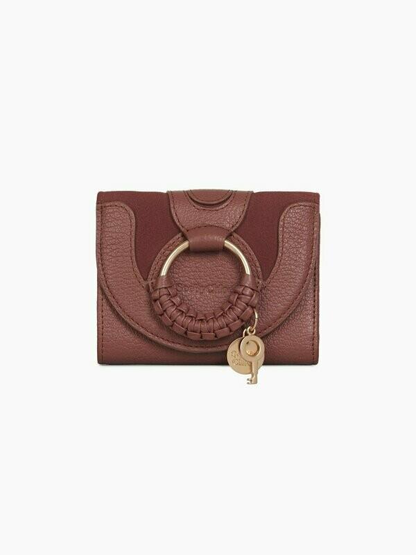 Portefeuille carré Hana - Fawn Brown