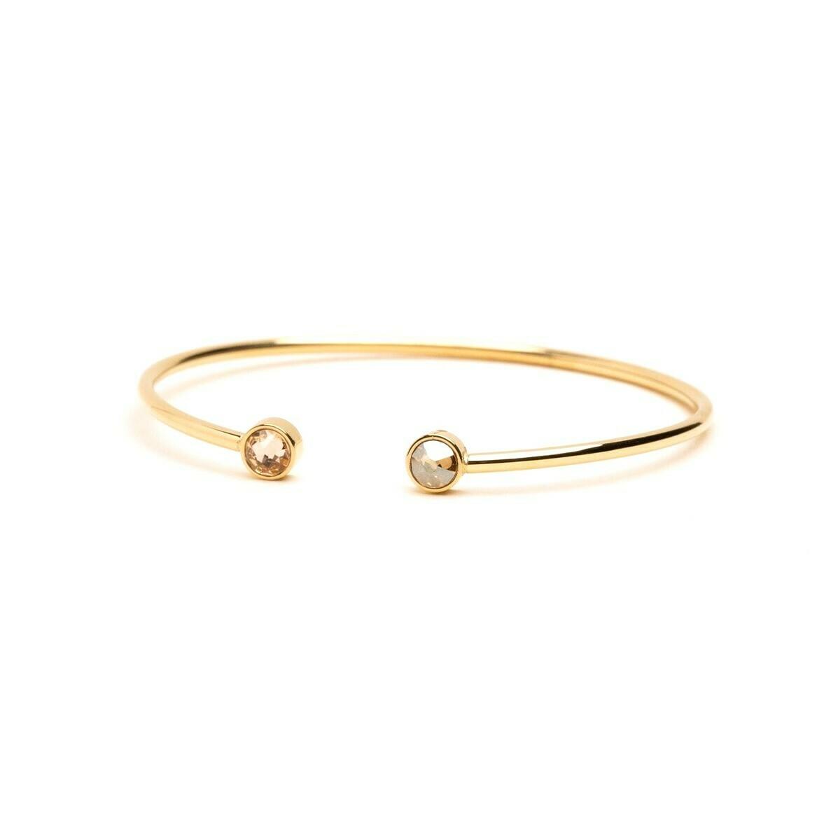 Bracelet Pauline - Beige soleil