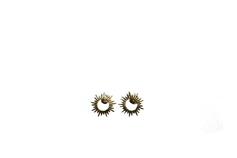 Boucles Mini Soleil - Doré