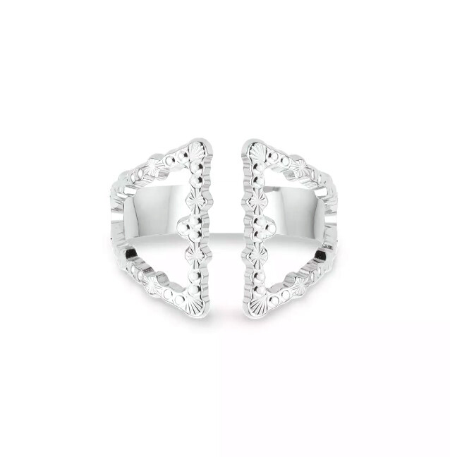 Bague Double Triangle
