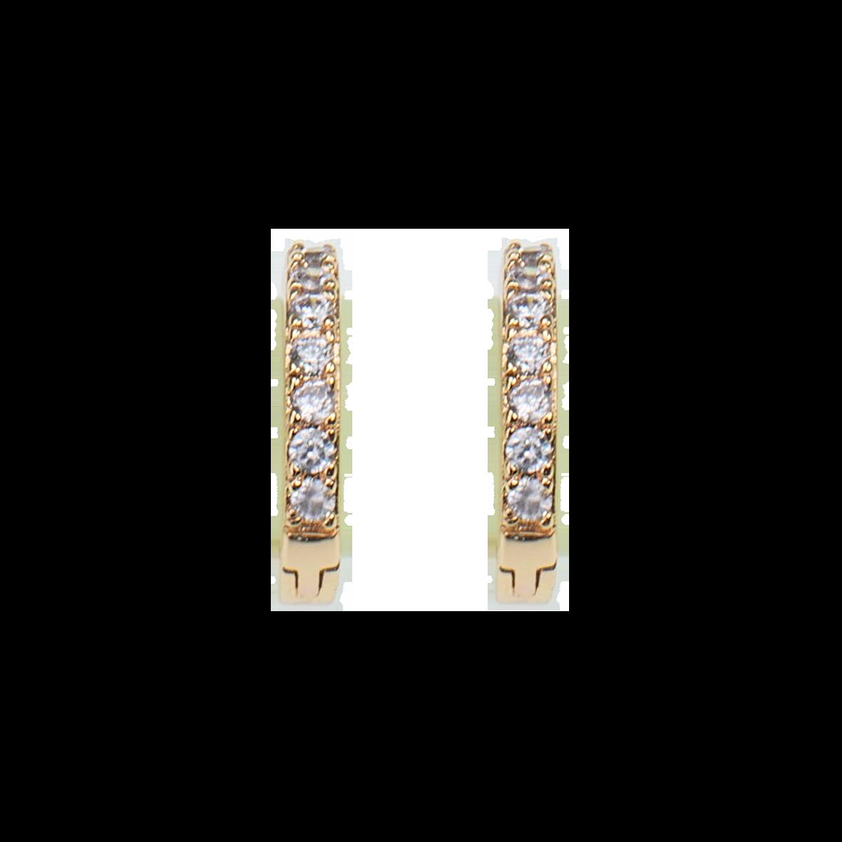 Créoles X-small Blanc