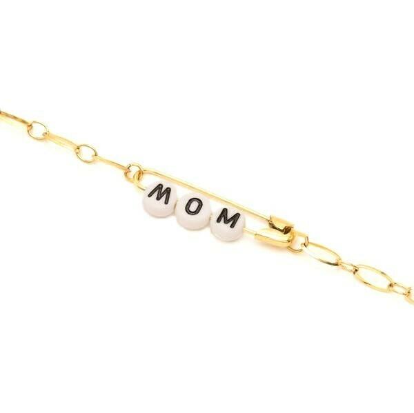 Bracelet Safety Pin - MOM