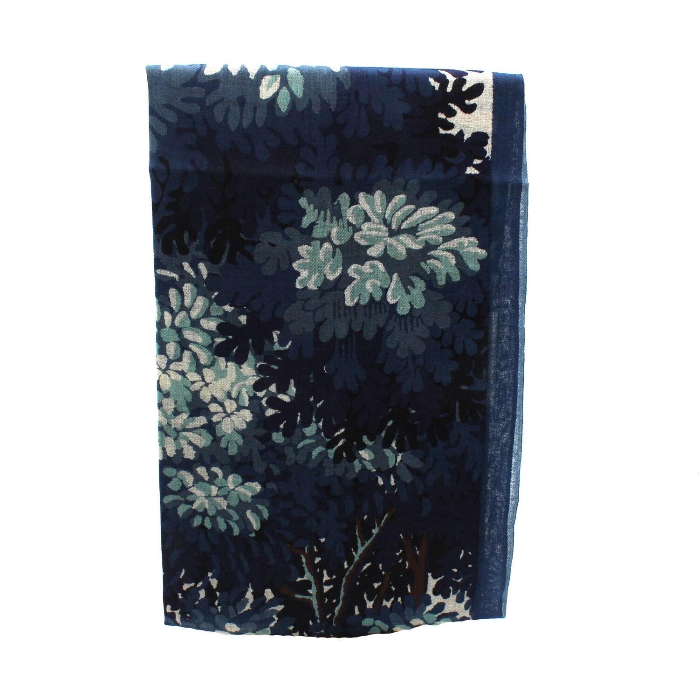 écharpe en laine - isabeau - bleu