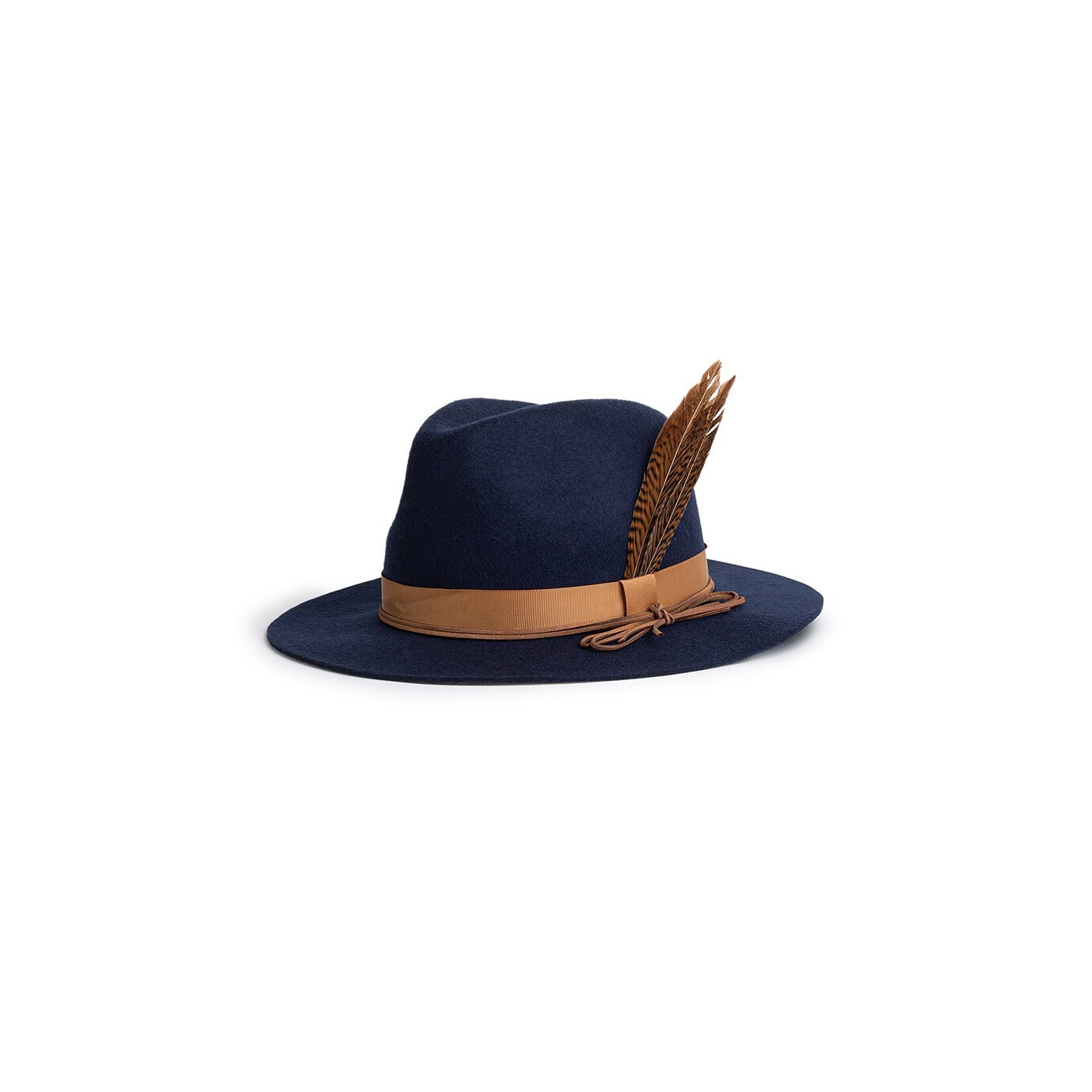 Chapeau Pheasant Bleu Marine