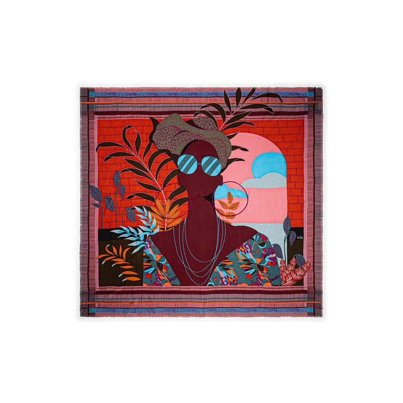 Foulard Saotome Rouge