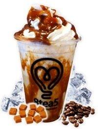 Caramel Frubbleccino