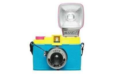Diana F+ Camera and Flash (CMYK Edition)