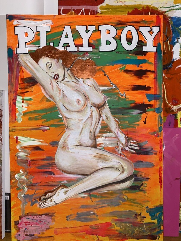 PLAYBOY 1 - 100cm X 150cm (4 HQ Prints Available : £650)