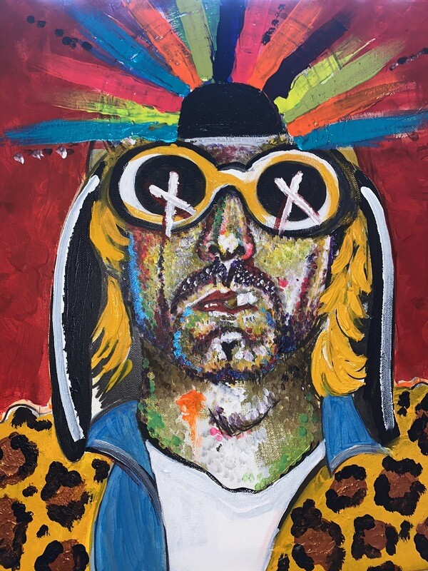 Kurt Cobain (2 HQ Prints Available : £365)