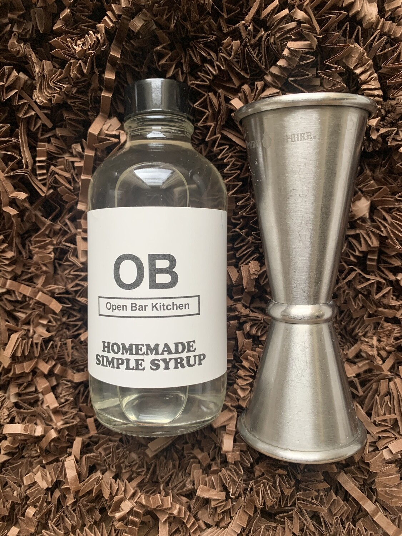 Basil Simple Syrup - 4oz