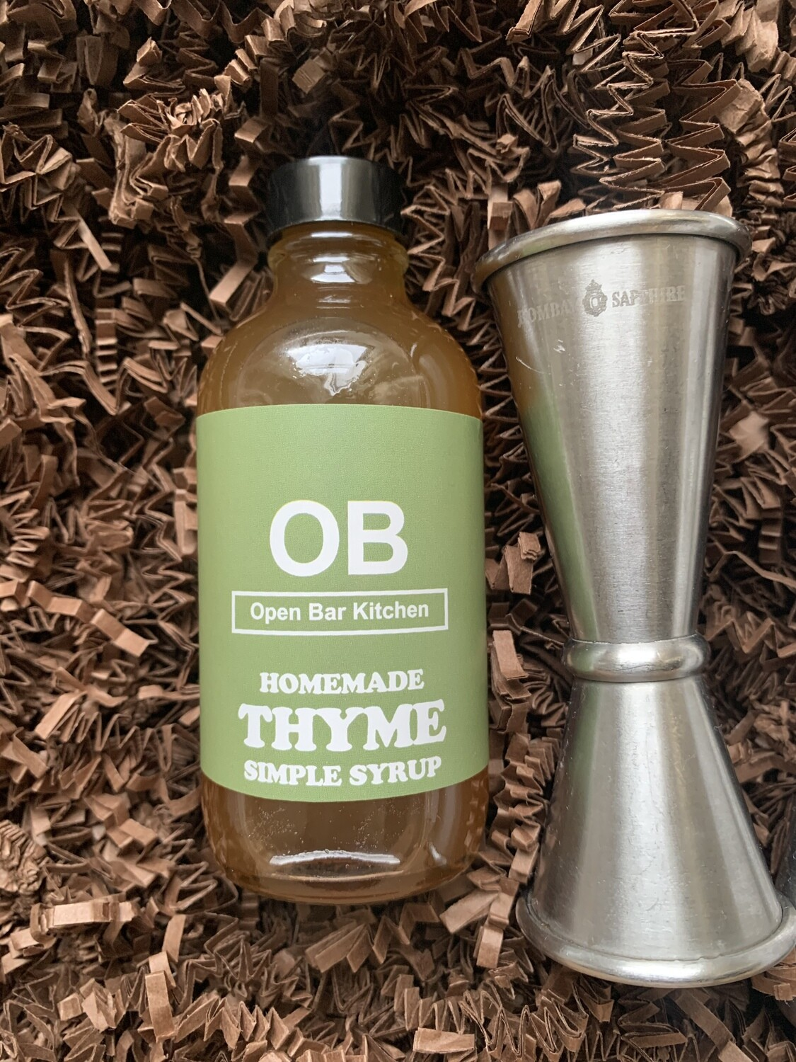 Thyme Simple Syrup - 4oz