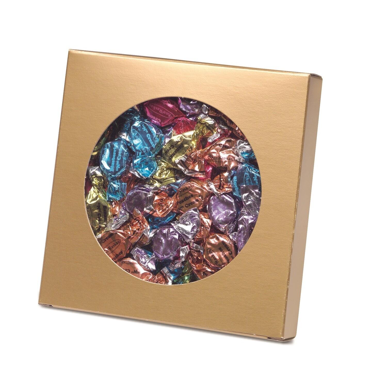 """Box with Die Cut Circle - Gold (7"""" x 1 1/8"""")"""