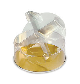 """Four Compartment Clear Divider (7"""" x 2 1/4"""")"""