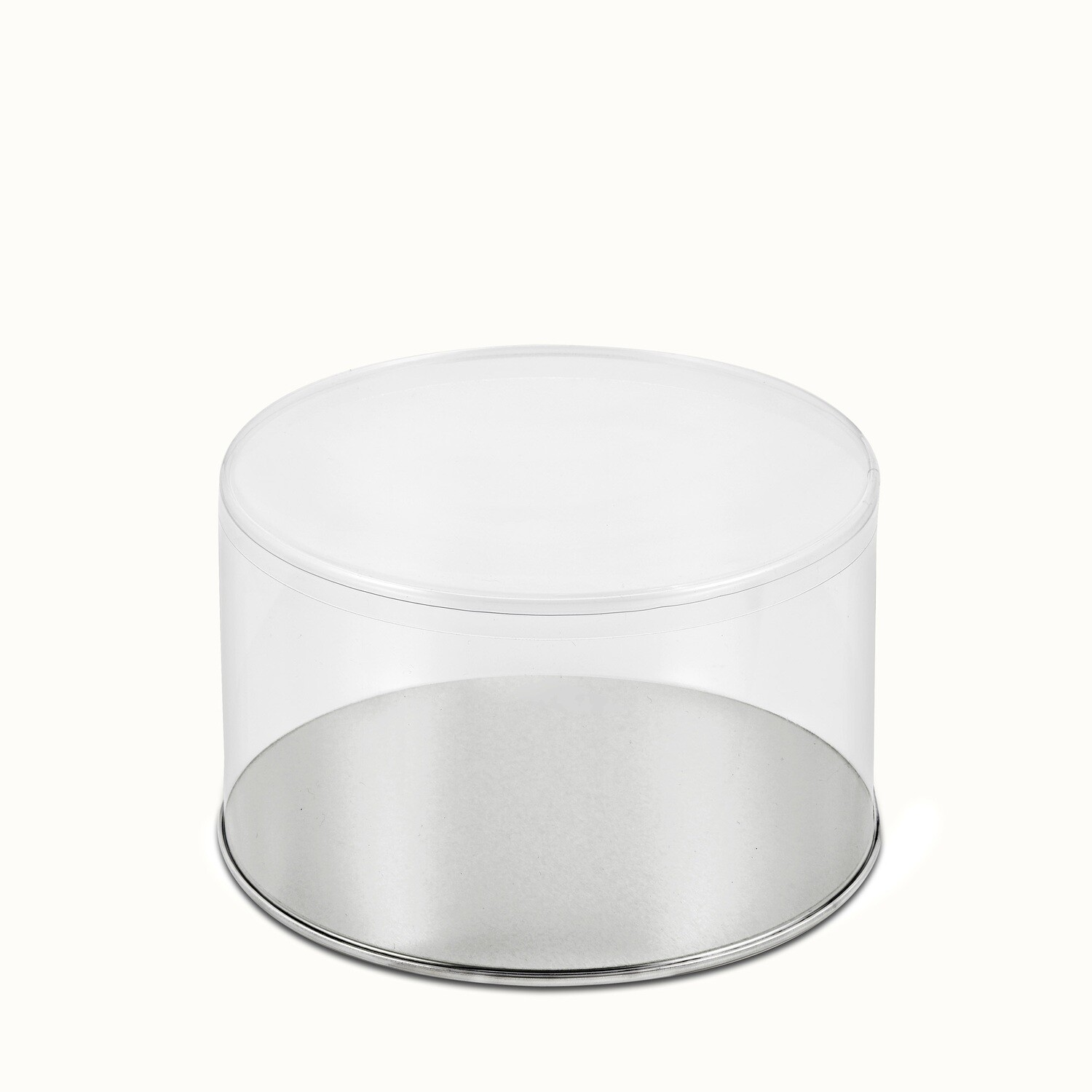 """Round with Metal Bottom & Plastic Top (7"""" x 4"""")"""