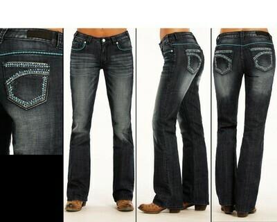 Applique Jeans