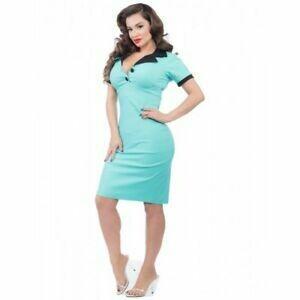 Lillian Wiggle Dress Mint