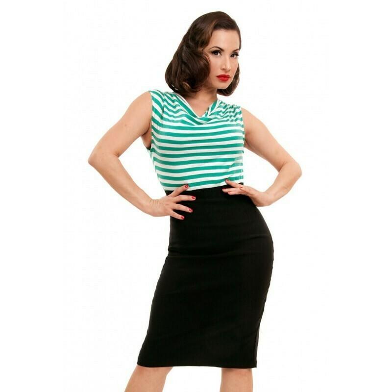 Sally Wiggle Dress Mint