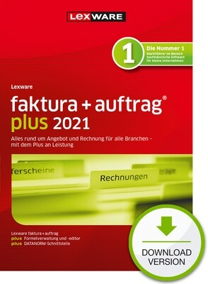 Lexware Faktura + Auftrag plus 2021 (Abo-Version) Downloadversion