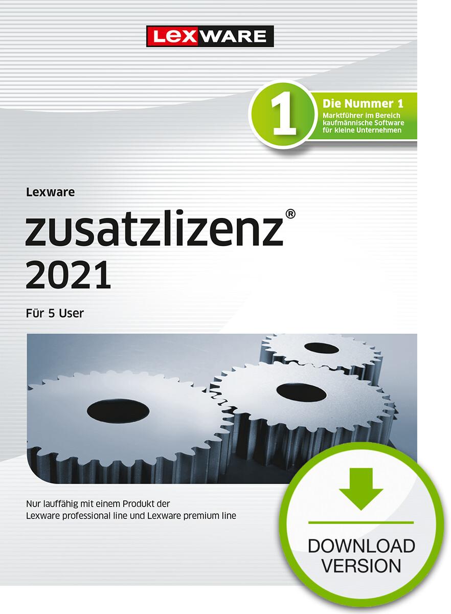 Lexware Zusatzlizenz 2021 5User