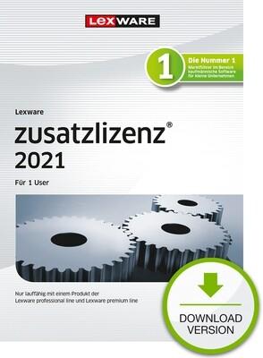 Lexware Zusatzlizenz 2021 1User
