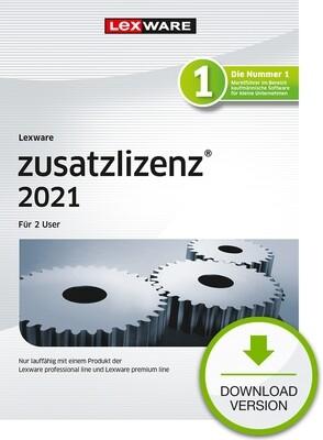 Lexware Zusatzlizenz 2021 2User