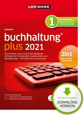 Lexware Buchhaltung Plus 2021 (Abo-Version) Downloadversion