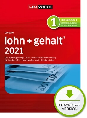 Lexware Lohn + Gehalt 2021 (Abo-Version) Downloadversion