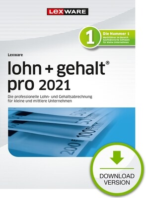 Lexware lohn + gehalt pro 2021 (Abo-Version) Downloadversion