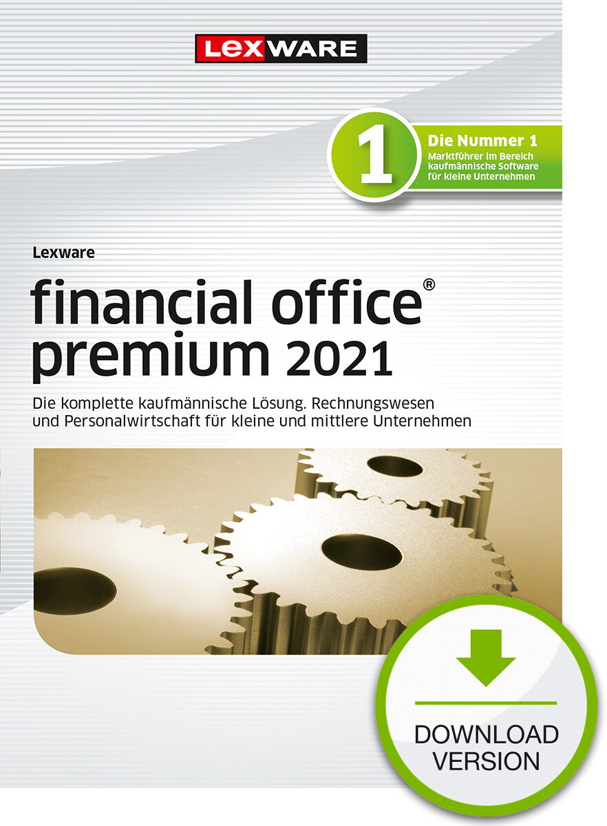 Lexware Financial Office premium 2021 (Abo-Version) Downloadversion
