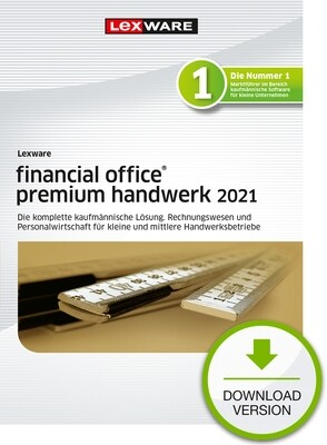 Lexware Financial Office premium Handwerk 2021 (Abo-Version) Downloadversion