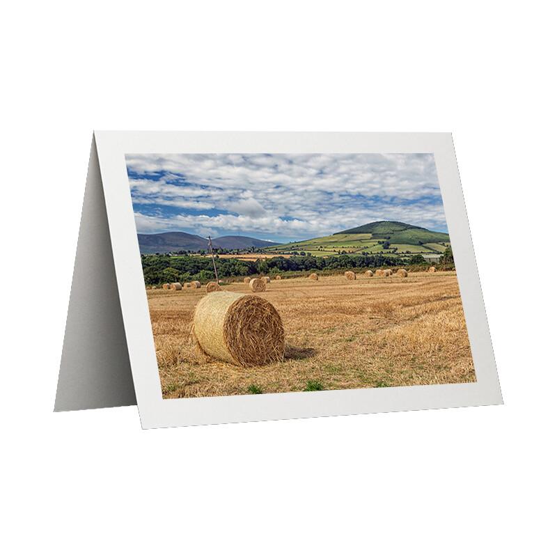 Photo Card - Hay Bales