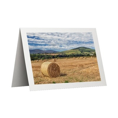 Photo Card - Hay Bales