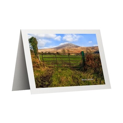 Photo Card - Mount Leinster View