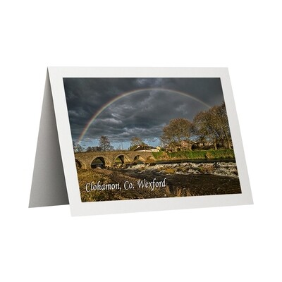 Photo Card - Clohamon Rainbow
